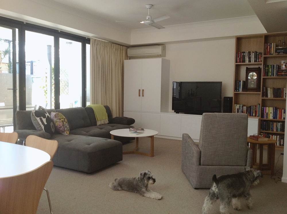 Living room transformation Brisbane