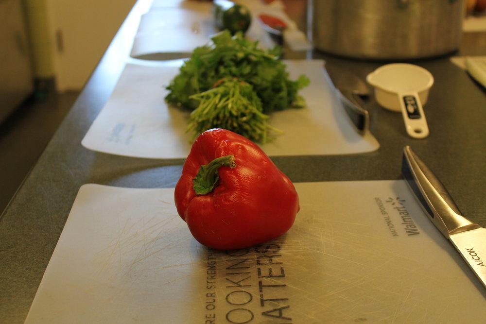 Lentil Veggie Chili -