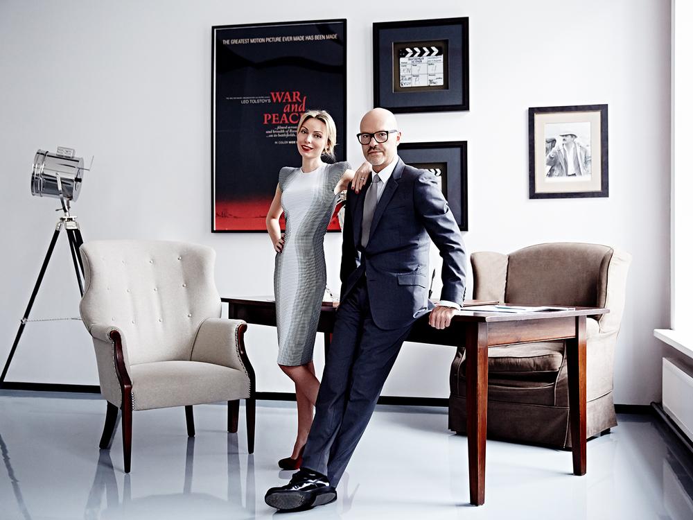 Fyodor Bondarchuk and Anastasia for SnC magazine