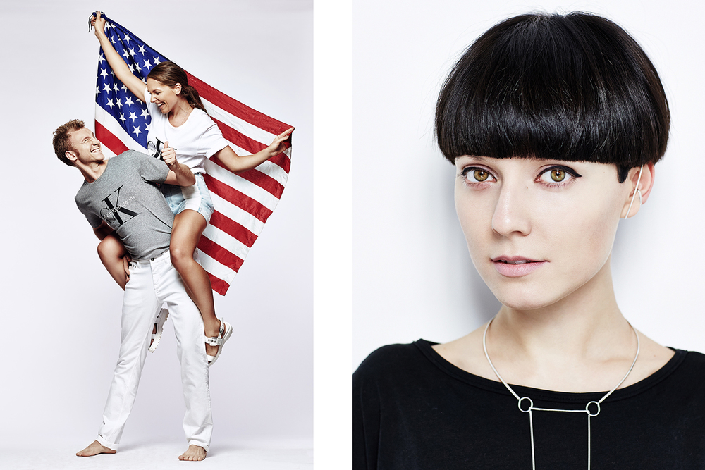 Yura and Kira Gagariny for Interview Russia _||_ Marina Nikolaevna for Wonderzine.com