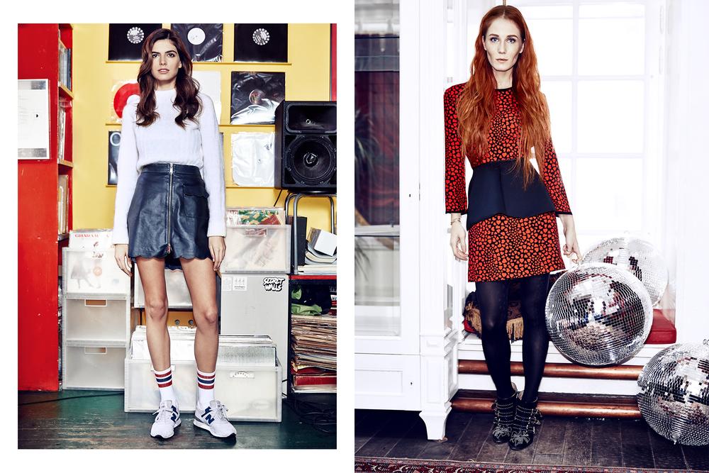 Dasha Malygina & Sasha Fedorova for Glamour Russia