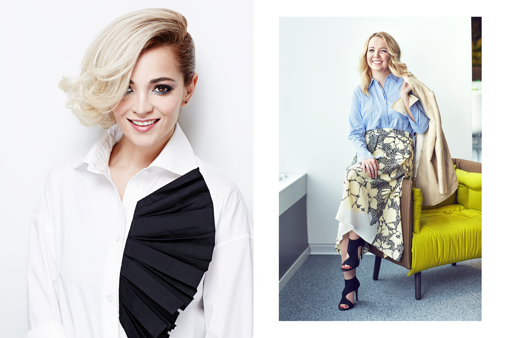 Teona Dolnikova & Lola Kristallinskaya for Glamour Russia