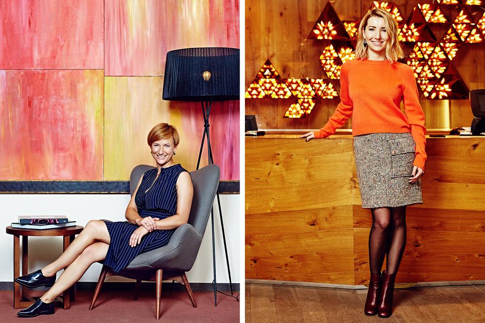 Elena Belova & Olga Pysina for Glamour Russia