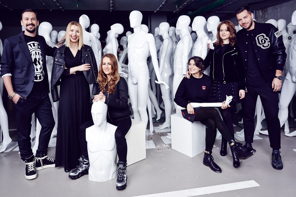 Tsvetnoy Central Market's creative team for Interview Russia