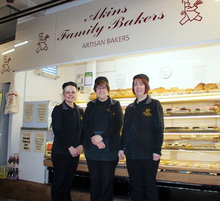 Akins Family Bakers, Durham Market