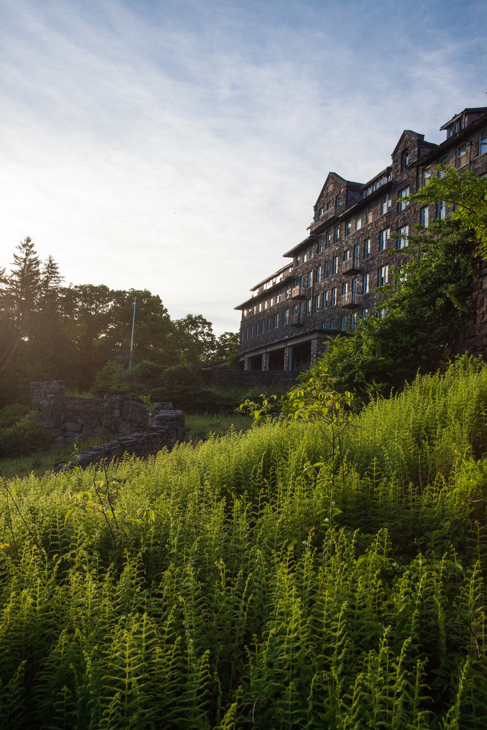 Buck Hill Inn was considered one of the most beautiful destinations in the Poconos, PA.
