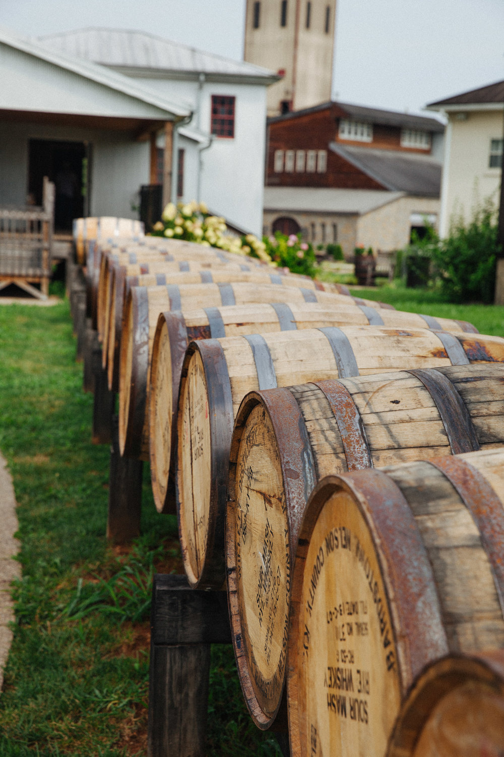 A unique tour at the Willett Distillery in Bardstown, Kentucky, one of the last remaining family owned whiskey distilleries.