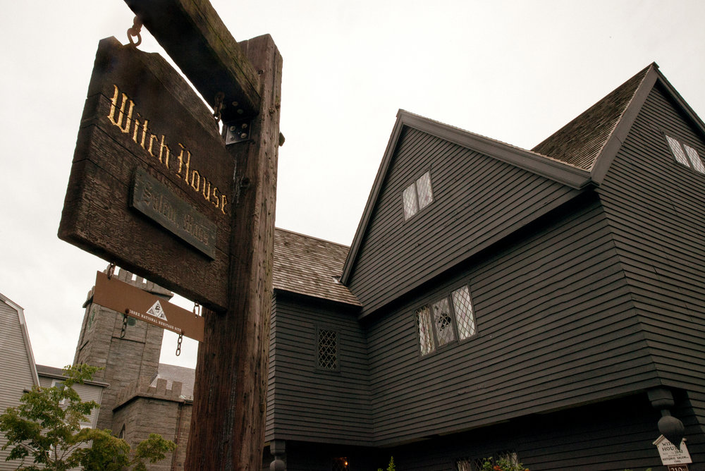 The acclaimed Witch House owned by Jonathan Corwin, which had direct ties to the Witch Trials in Salem, Massachusetts.