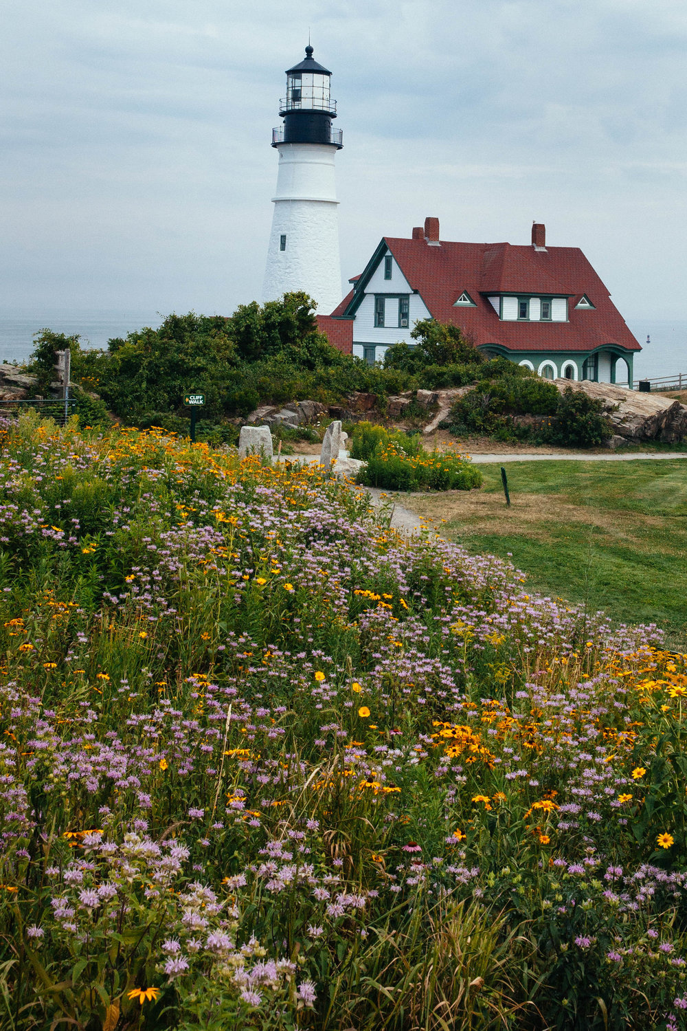 Cape Elizabeth or the Portland Head Light in Fort Williams Park.