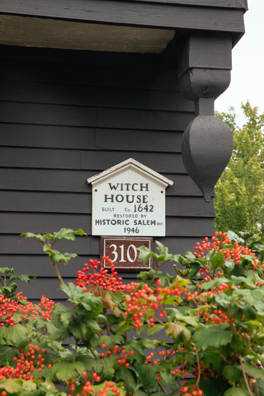 The Witch House, or Judge Jonathan Corwin's house.