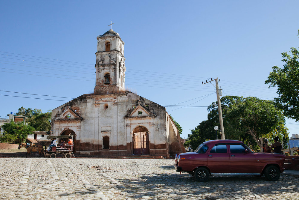One of the oldest churches in Trinidad, Cuba.