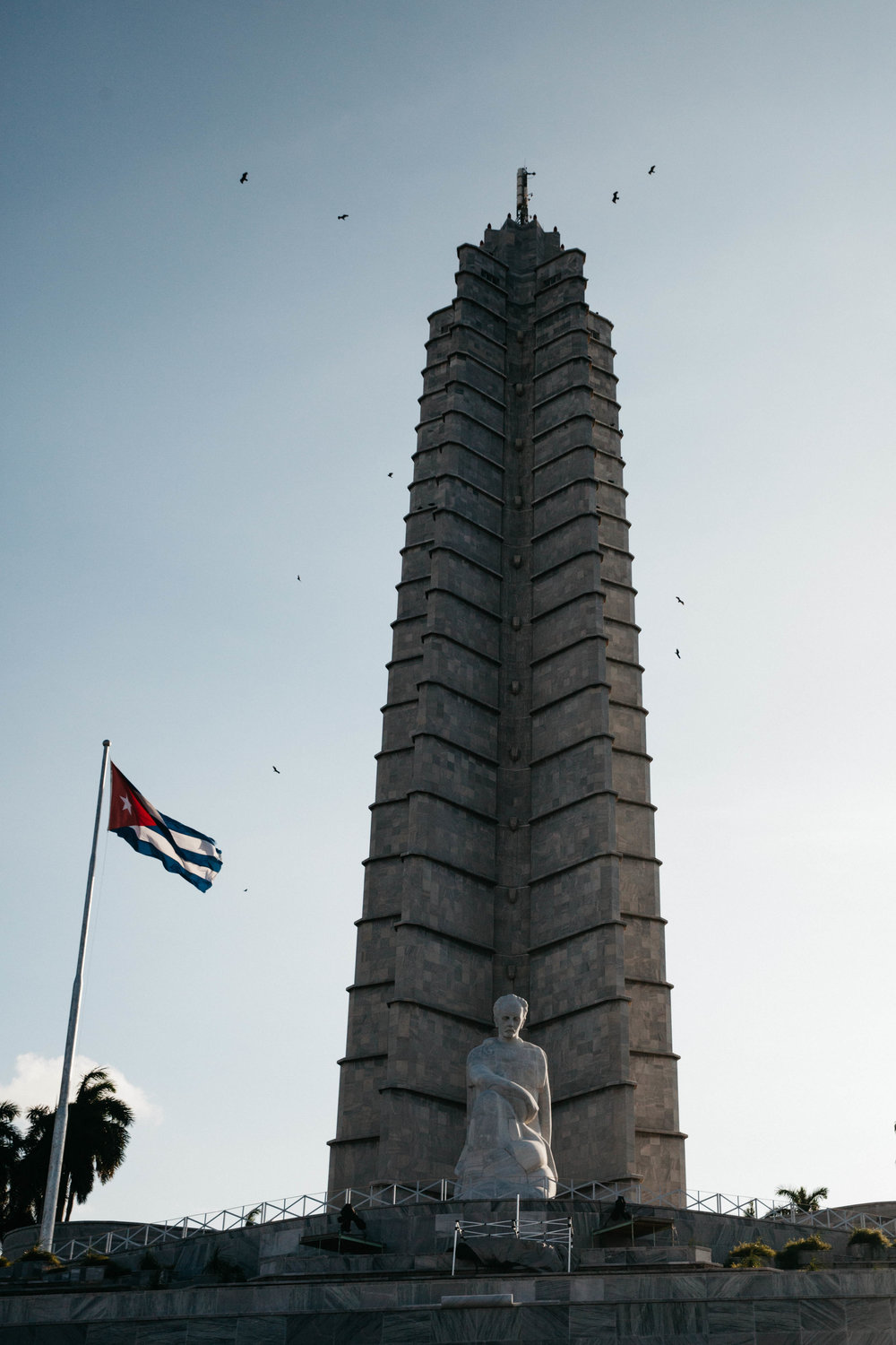 This is the Jose Marti memorial and Communist monument at the Plaza de la Revolucion.