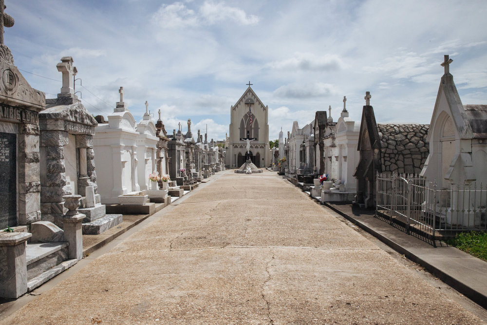 Bywater also has its own cemeteries, much quieter than some of the cemetaries closer to the city center.