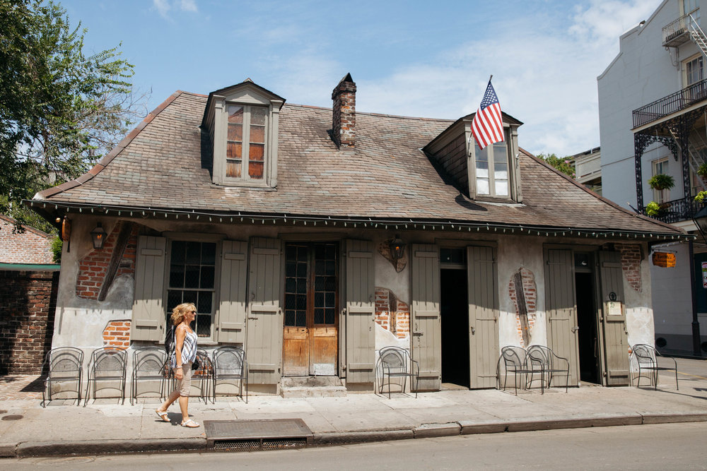 Laffite's Blacksmith Shop- one of the oldest bars in New Orleans