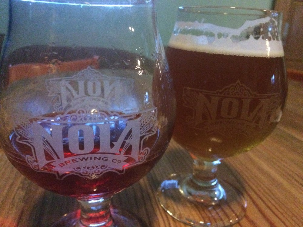 Stopped at NOLA Brewing Company in Louisiana.