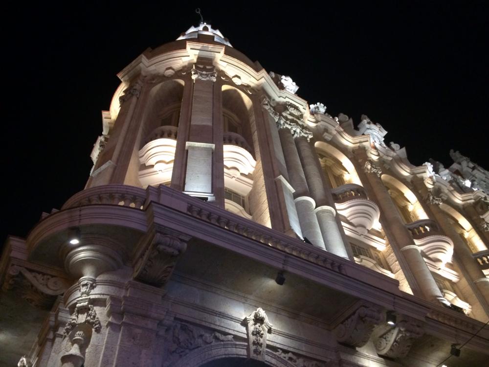 Unique Spanish architecture decorates this refurbished Cuban hotel in Havana.