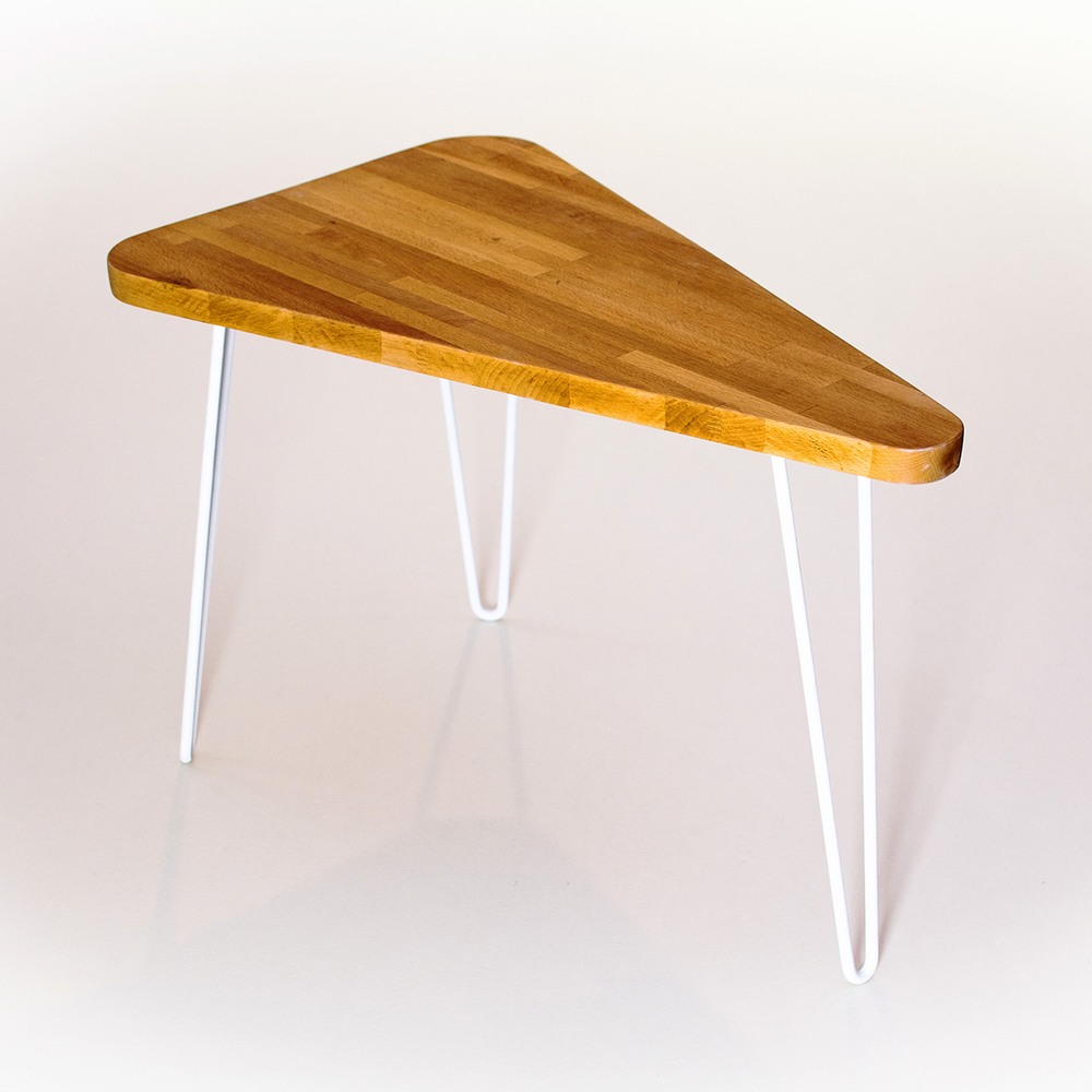 Wedge Table by Constructed Matter