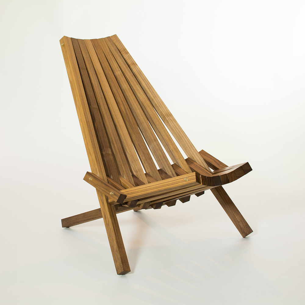 Walnut Moderondack Chair