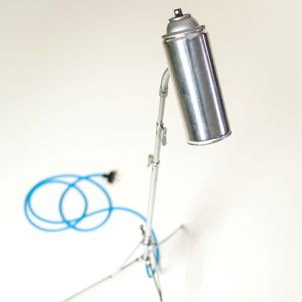 Spray Lamp by Joe Ballard