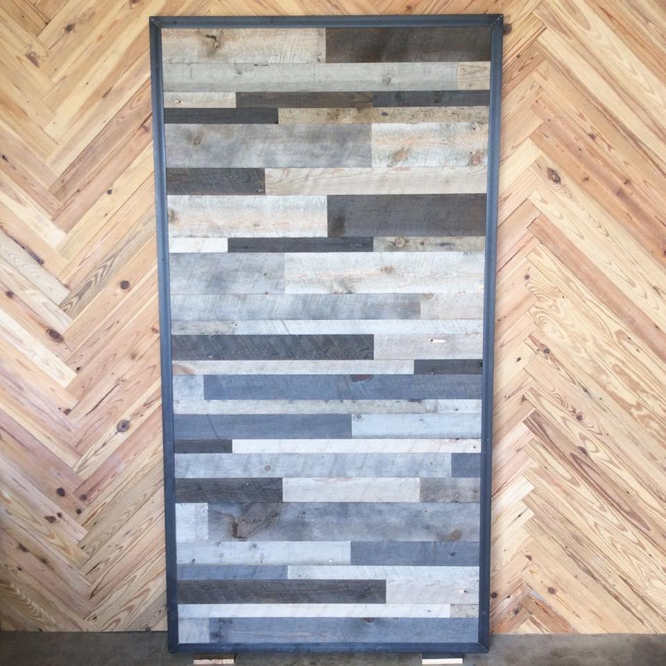 Reclaimed Barn Wood Door by Constructed Matter