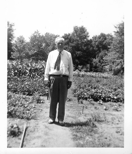 LeRoy French Flowers is actually named after LeRoy French (pictured above), my grandfather, who was a classy guy, a gentlemen and a GARDENER in the 1940's era.  His passion for  all things 'green' was and is my inspiration    daily   -- Words of Founder, Mary Jane from the  Candy + Co Vendor Feature