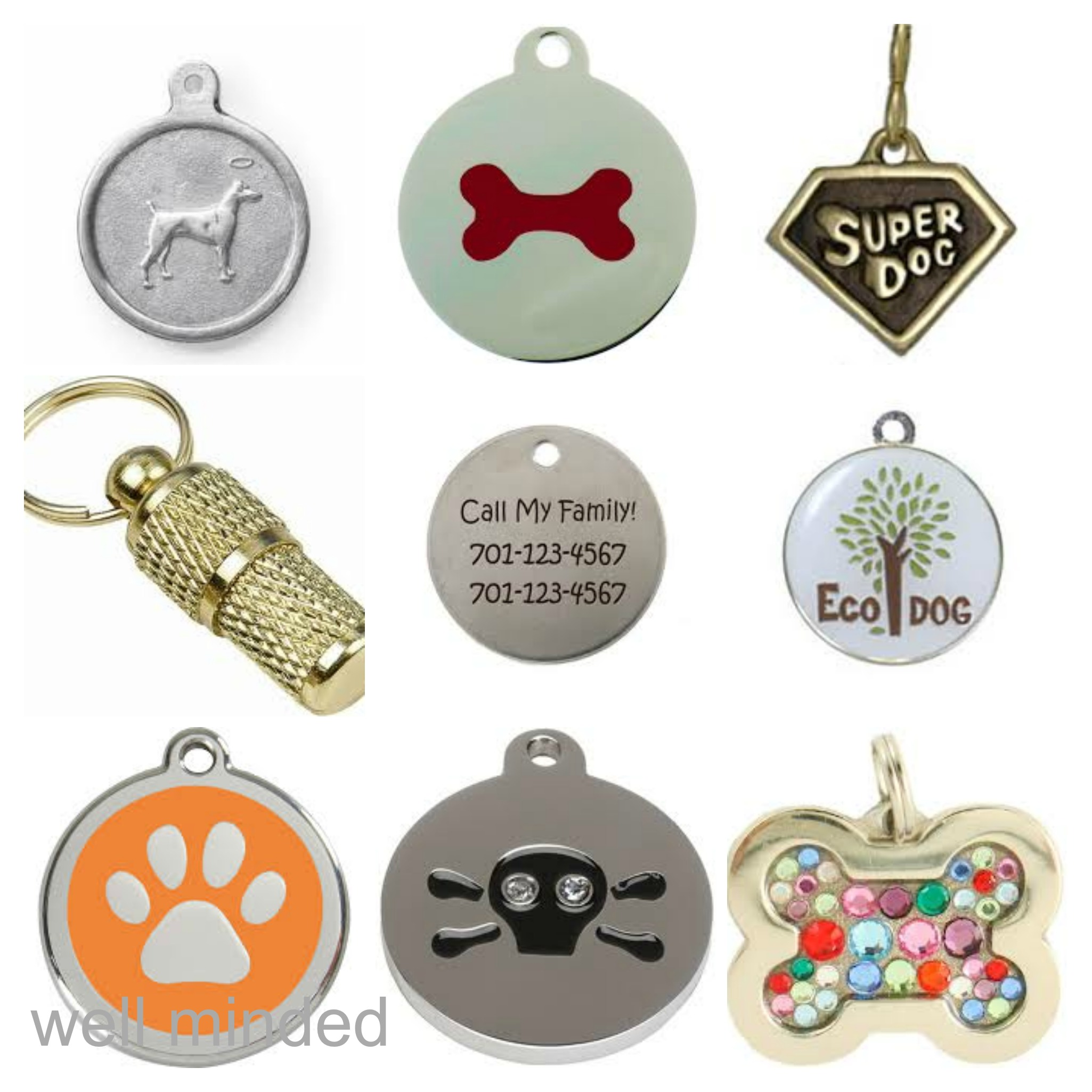 what not to put on your dog s i d tag well minded pets