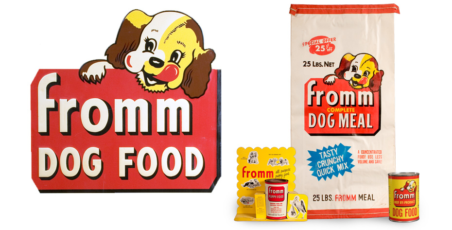 LOVE the vintage logo and packaging! Image courtesy of Fromm.