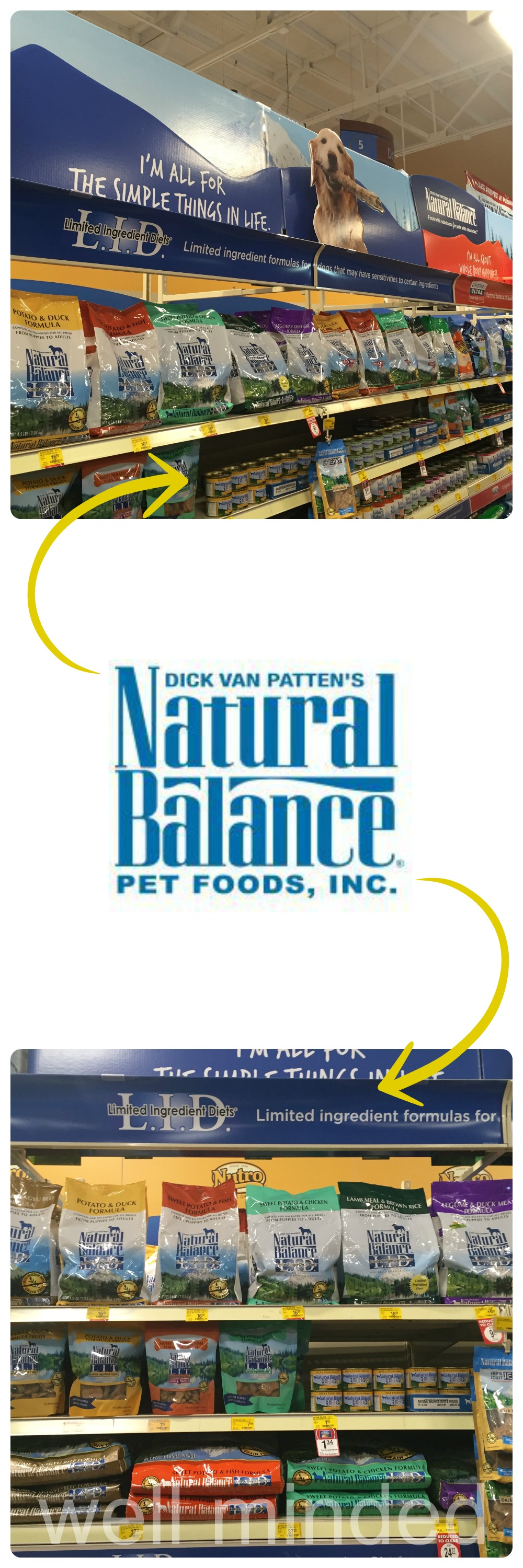 Natural Balance is easy to find at your local PetSmart!