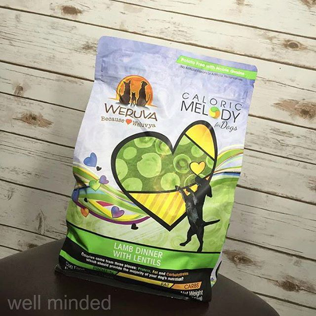 We (well, N.A.S.H.A.) are loving @Weruva Caloric Melody! #dog #WeruvaDog #ad