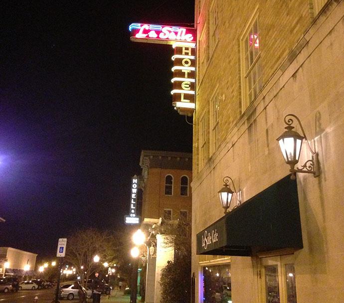 Showcasing revitalized downtown Bryan, Texas