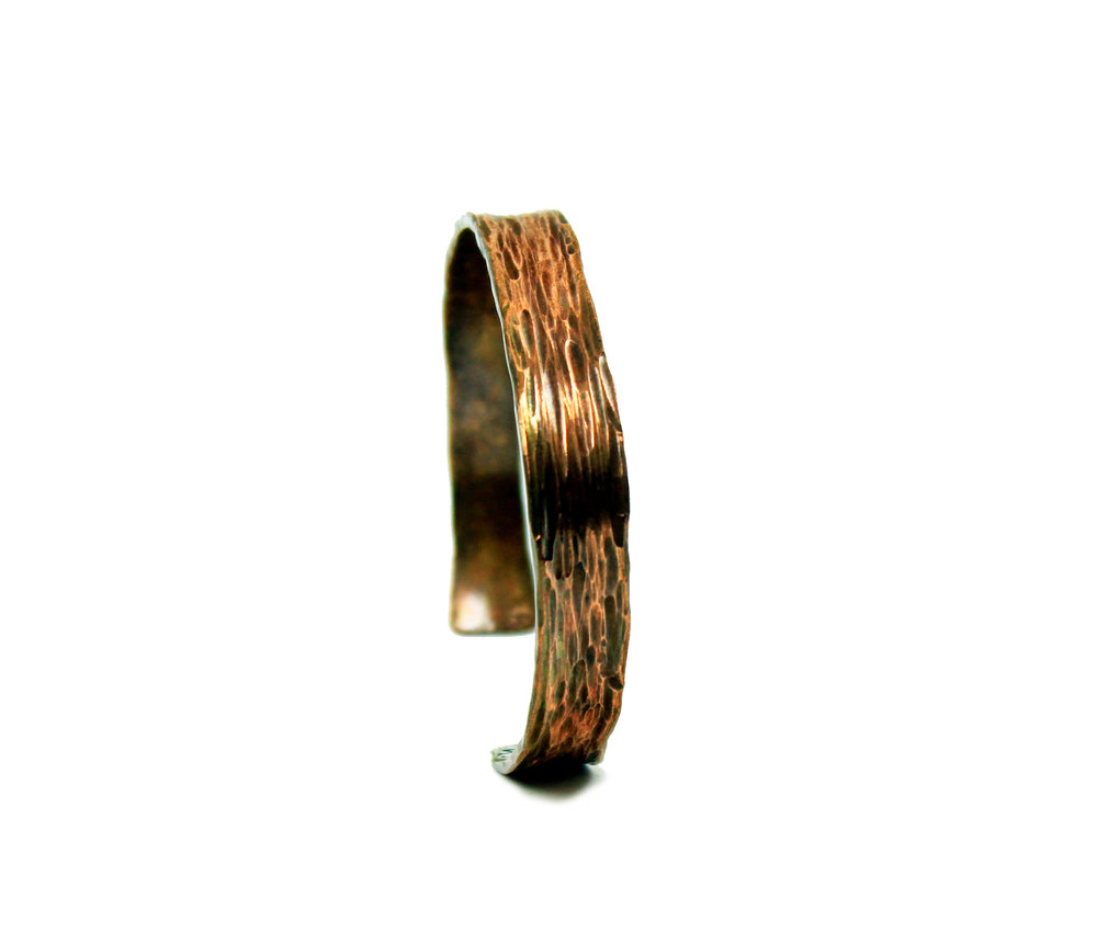 Forged Copper Cuff