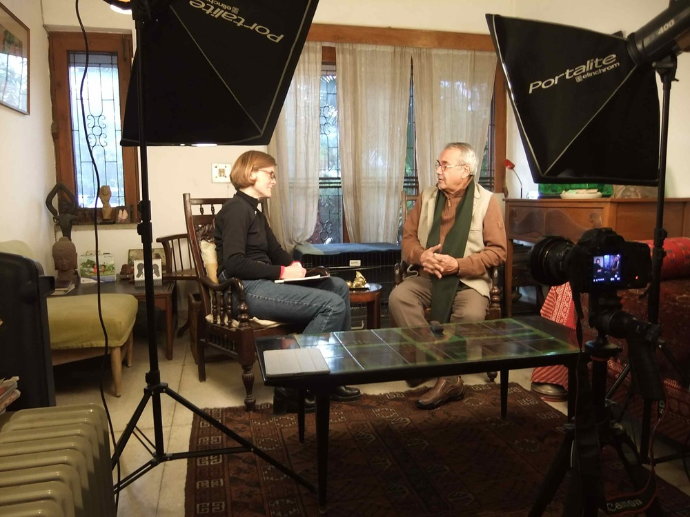 Documentary Interview, New Delhi