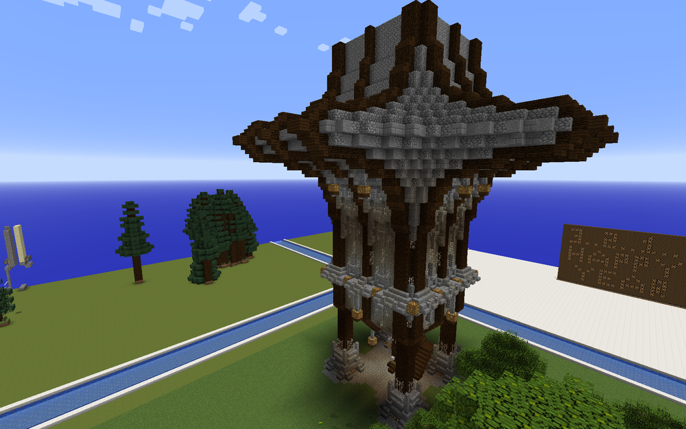 Early Stages of Tower House by Polygon_Wizard