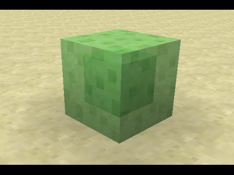 Watch docm77's video explaining the sticky slime block!
