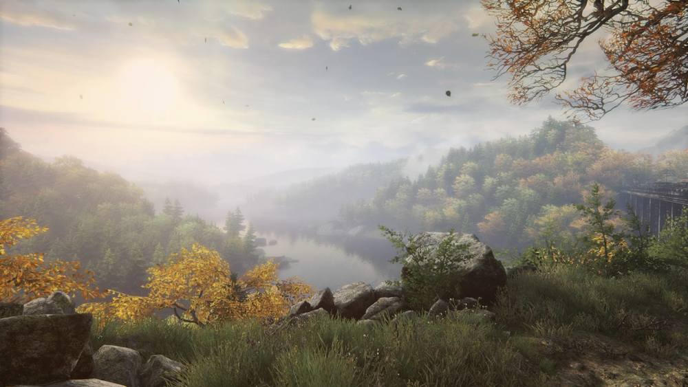 Just a little bit of the stunning scenery in The Vanishing of Ethan Carter.