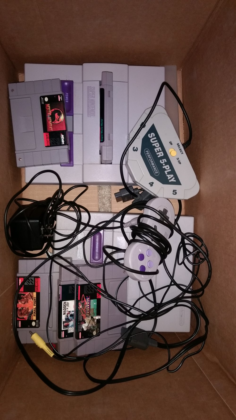 Garage Sale Finds May 2017 The Gamers Lounge Electrical Wiring Games Over Next Week I Got A Response To One Of My Offerup Adds Guy Was Looking Sell Snes And He Also Had Nes With Hookups