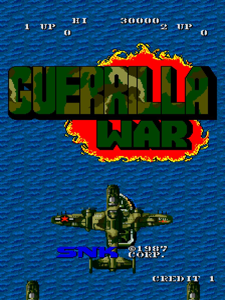 Guerilla War (Arcade) 01.png