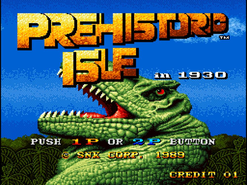Prehistoric Isle in 1930 (Arcade) 01.png