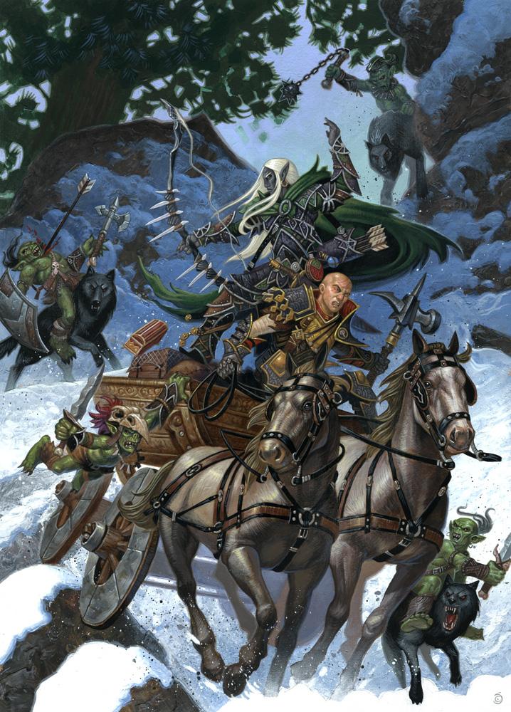 Dendric & Belgos Escape the Orcs