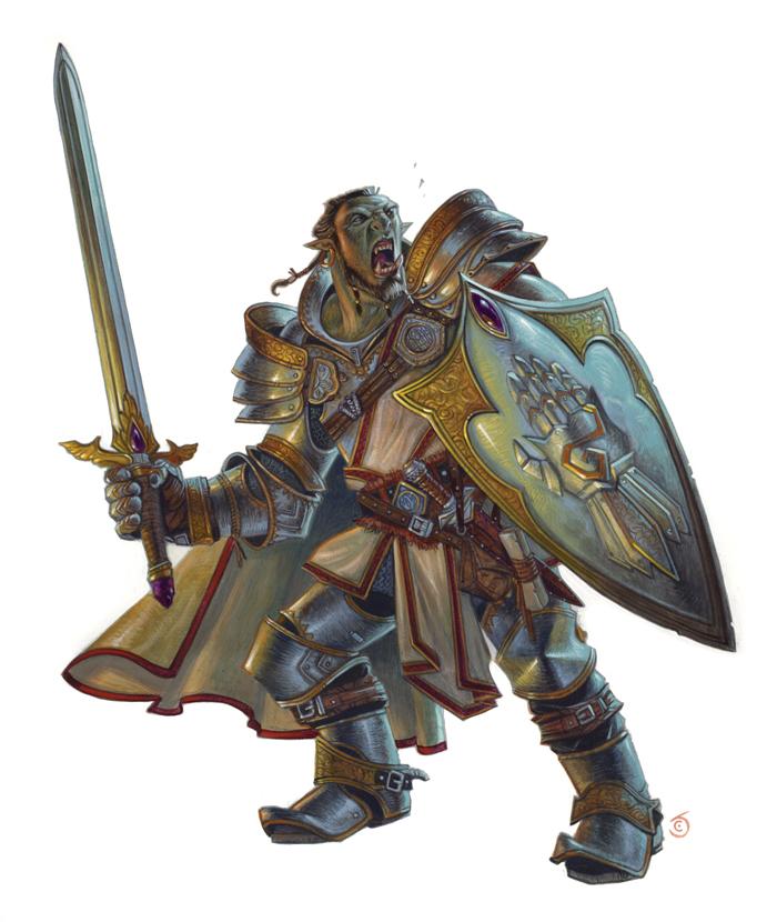 Half-Orc Paladin