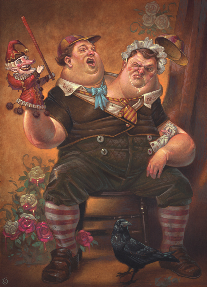 The Great War of Tweedle Dum & Tweedle Dee