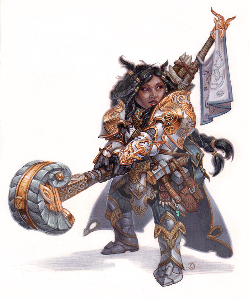 Dwarven Smith Cleric