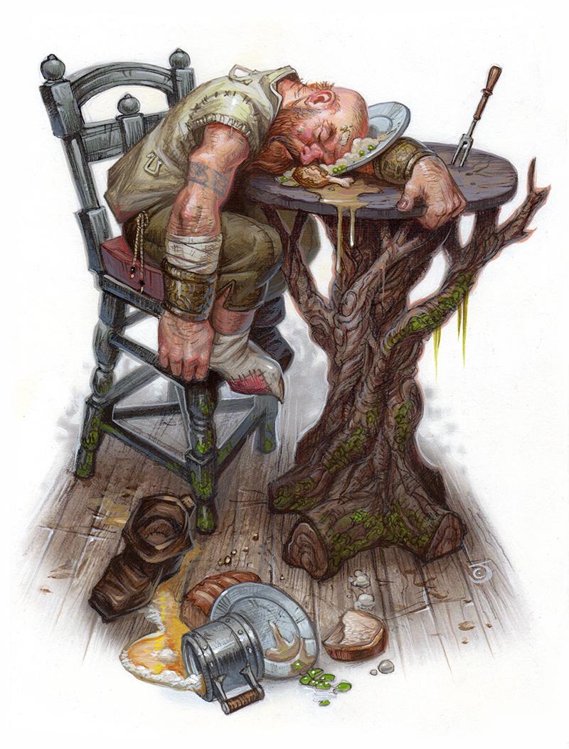 Sleepy Dwarf