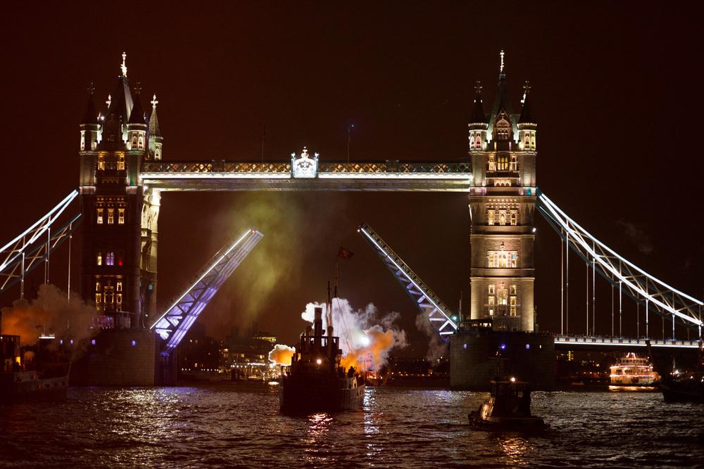 1513: A Ships' Opera, Zatorski & Zatorski and Richard Wilson RA.Thames Festival Trust
