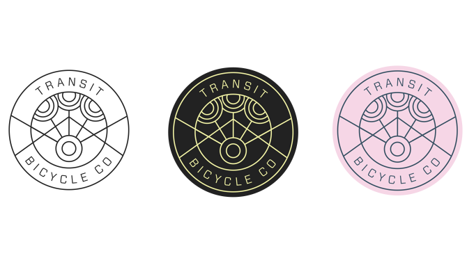 visualgraphc :      Transit Bicycle Co Rebranding    Connor Hill