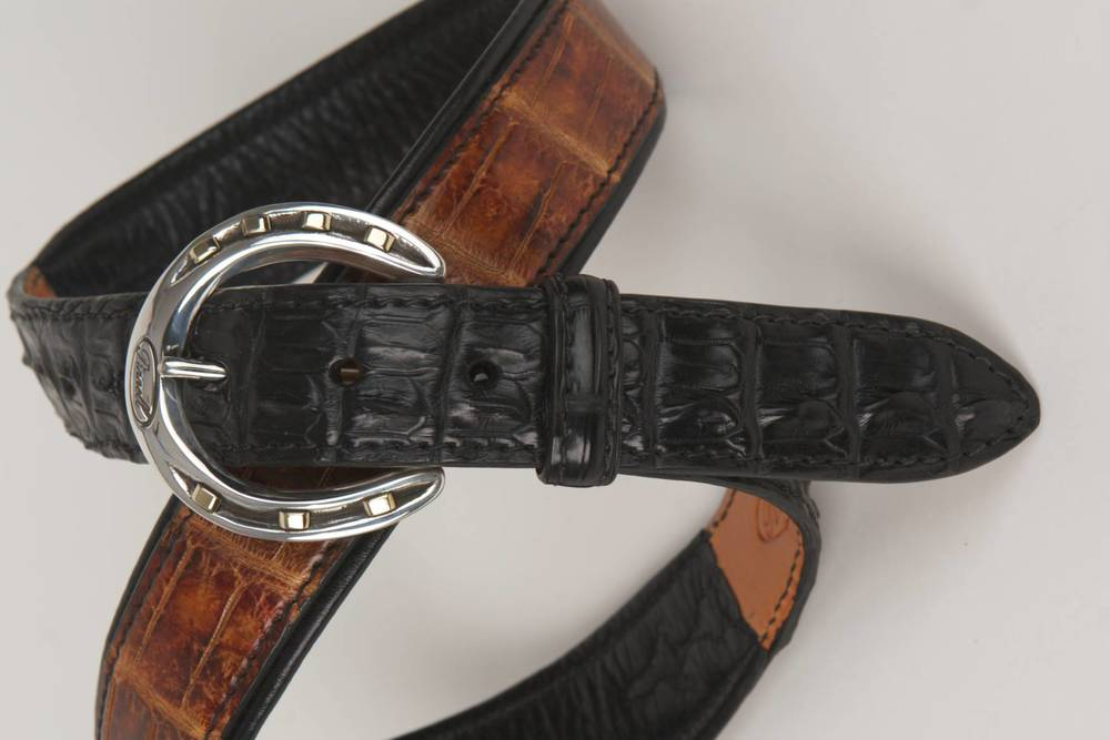 Sterling Silver Horseshoe Belt