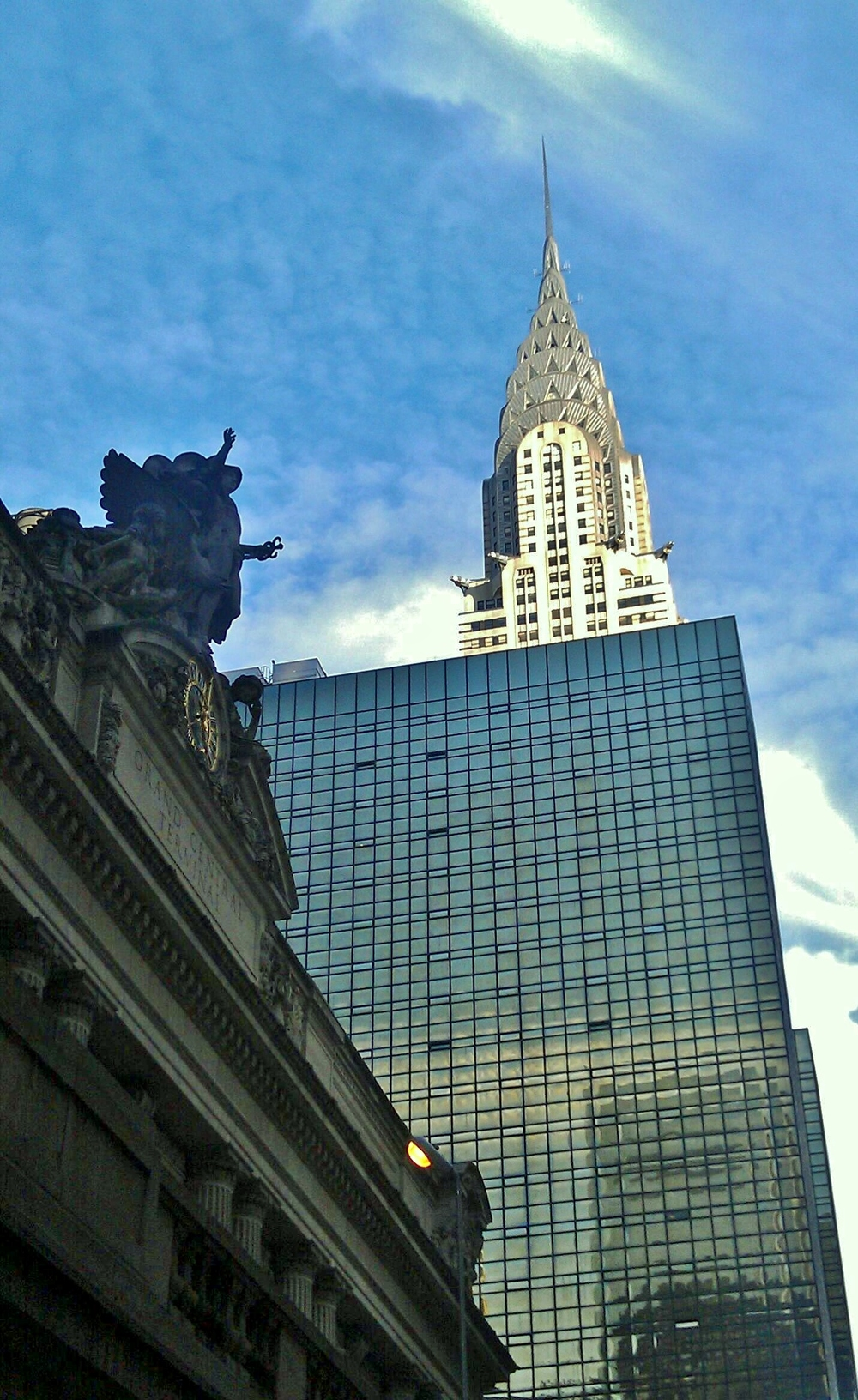 Grand Central and the Chrysler Building