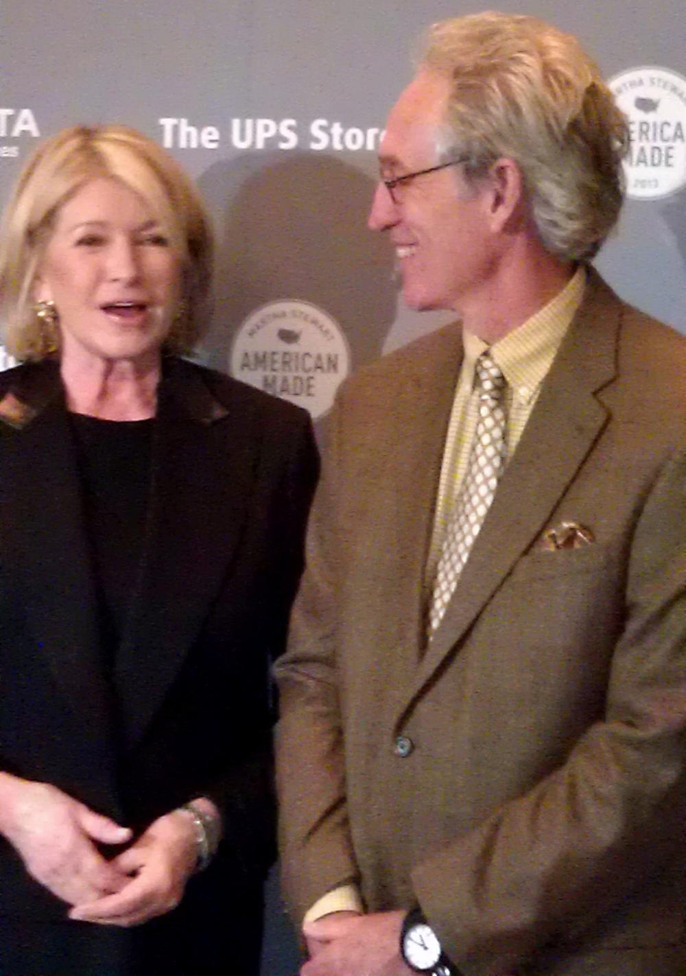 Martha and Chuck!