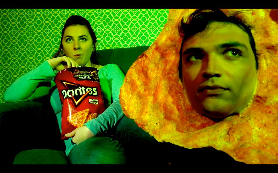 Carl in Doritos Spec Commercial, 2014.