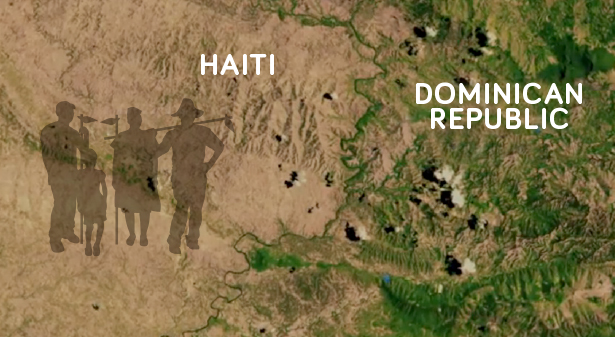 HAITI DEFORESTED